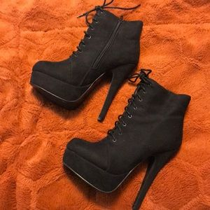 Forever 21 high heel boots
